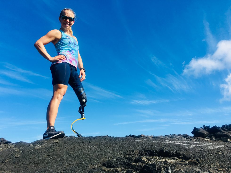 Sarah Reinertsen in Kona, Hawaii ready for the Ironman 2018 World Championships
